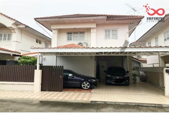 82043, บ้านเดี่ยว 2 ชั้น หมู่บ้านบุรีรมย์ รามอินทรา – คู้บอน ถนนเลียบคลองสอง