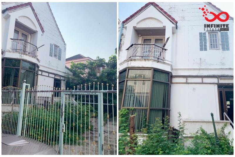 บ้านเดี่ยว 2 ชั้น ฟอเรสปาร์ค มีนบุรี ซอยรามคำแหง196