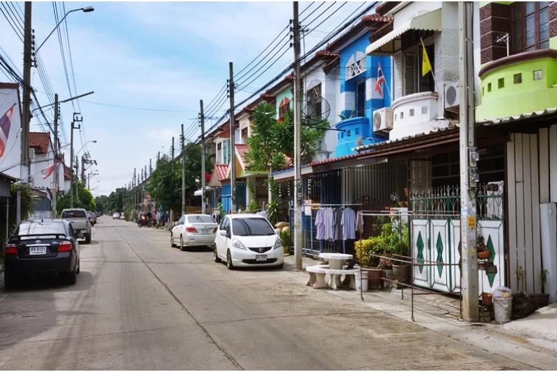 ขายทาวน์เฮ้าส์ หมู่บ้านนันทิชา 4 ถนนบางกรวย-ไทรน้อย