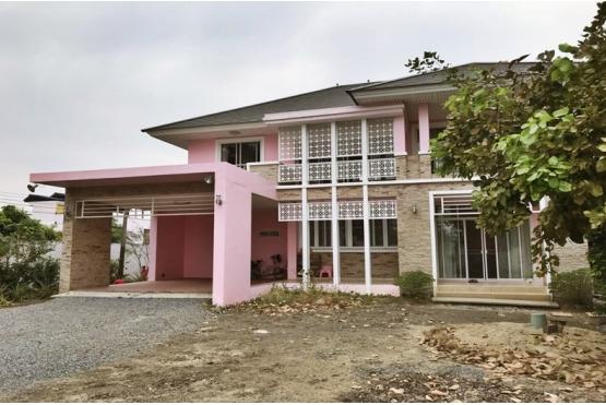 80933, บ้านเดี่ยวพร้อมที่ดิน 572 ตารางวา ถนนบางพรม พุทธมณฑลสาย 1