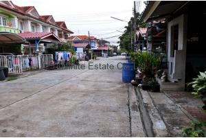 80934, ขายทาวน์เฮ้าส์ หมู่บ้านเมืองประชา 2ชั้น 34 ตารางวา ถนนหทัยราษฎร์ หลังมุม