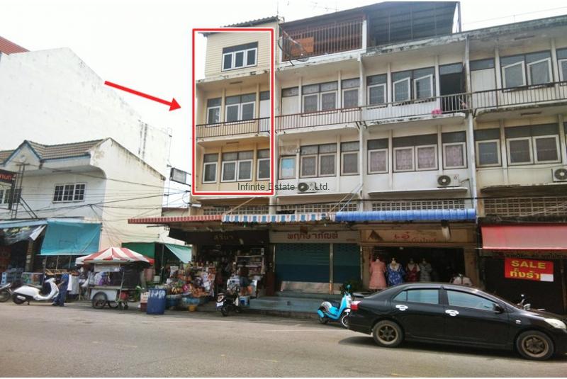 ขายอาคารพาณิชย์ 3.5ชั้น ถนนพระราม2 ตลาดมหาชัย ห้องมุม