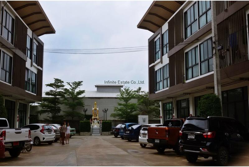 ขายอาคารพาณิชย์ คีทพล่าซ่า 3ชั้น ถนนพระราม2