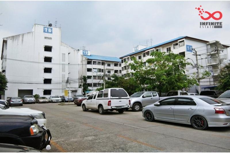 ขายคอนโดบ้านเอื้ออาทร มีนบุรี ซอยรามอินทรา127 ห้องมุม