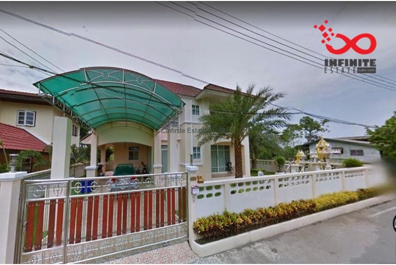 บ้านเดี่ยว 2ชั้น 100ตารางวา ซอยบงกช 19 ถนนคลองหลวง