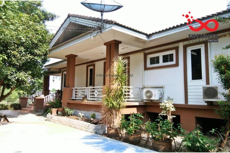 ให้เช่าบ้านเดี่ยวเรือนรวี 2 ไร่ 209 ตรว ถนนสุพรรณบุรี-ชัยนาท