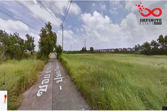 81361, ที่ดินเปล่า 2ไร่ 1งาน 90ตารางวา ถนนเลียบวารี21