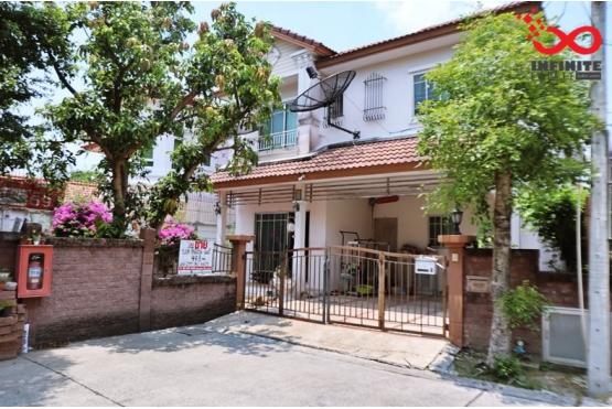 81653, บ้านเดี่ยว 2ชั้น ธนาสิริ ปิ่นเกล้า ราชพฤกษ์ พระราม5 หลังริม