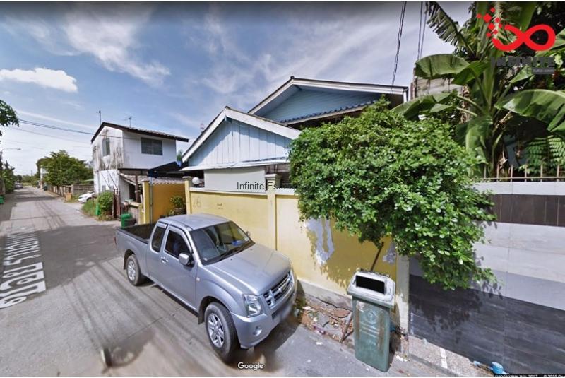 บ้านเดียว 2ชั้น 49 ตารางวา ซอยรามอินทรา 46/1 เข้าซอยมา 300 เมตร