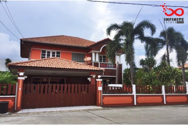 บ้านเดี่ยว 2 ชั้น ม.ศุชญา 2 ซอยนิมิตใหม่ 6/2 มีนบุรี