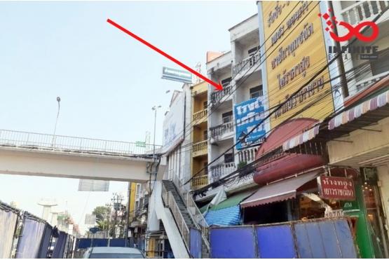 82236, อาคารพาณิชย์ 4.5ชั้น 2คูหา ติดถนนสีหบุรานุกิจ  ใกล้ตลาดมีนบุรี ทำเลดี