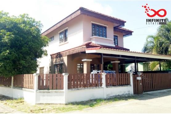 82303, บ้านเดี่ยว 2 ชั้น หมู่บ้านเคซีการ์เด้นโฮม 11 ซอยนิมิตใหม่40 หลังมุม