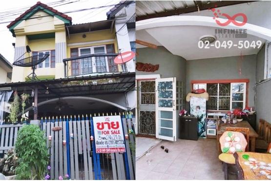 83050, ขายทาวน์เฮ้าส์ 2 ชั้น หมู่บ้านศุภากร ถนนบางกรวย-กรุงเทพ ใกล้รถไฟฟ้าMRT สายสีม่วง