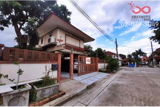 83129, ขายบ้านเดี่ยว 2 ชั้น หมู่บ้าน สัมมากรหทัยราษฎร์-มีนบุรี (หลังมุม)