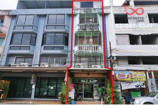 83127, อาคารพาณิชย์ 4 ชั้น 14 ตารางวา หมู่บ้านอัมรินทร์นิเทศน์1 ถนนพหลโยธิน ใกล้รถไฟฟ้าBTS สายสีเขียว (วัดพระศรีมหาธาตุ)