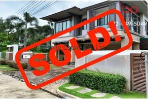 83350, บ้านเดี่ยว 2 ชั้น เศรษฐสิริ วัชรพล Series Thai