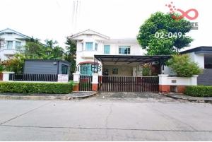 83466, ขายบ้านเดี่ยว 2 ชั้น หมู่บ้านมัณฑนา อ่อนนุช-วงแหวน ถนนสุขาภิบาล2 ซอย25