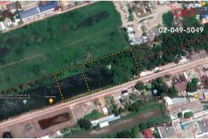 83504, ที่ดินเปล่า 2 แปลง ถนนนิมิตใหม่ มีนบุรี ใกล้ถนนวงแหวนรอบนอก