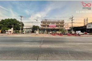 83792, ขายตึก 3ชั้นพร้อมโกดัง 2ไร่ 3งาน 54ตารางวา ติดถนนเพชรเกษม อ้อมน้อย กระทุ่มแบน