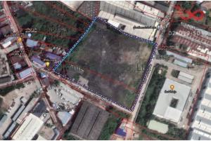 84211, ที่ดิน 8ไร่ 3งาน 29ตารางวา ซอยสุขสวัสดิ์ 92 ส.ไทยเสรี 2 ถนนสุขสวัสดิ์ พื้นที่สีม่วง