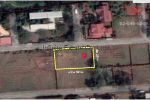84663, ที่ดินเปล่า 160 ตารางวา หมู่บ้านปัญญาเลคโฮม ซอยนิมิตใหม่28