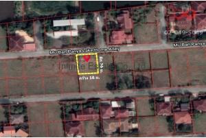 84662, ที่ดินเปล่า 80 ตารางวา หมู่บ้านปัญญาเลคโฮม ซอยนิมิตใหม่28