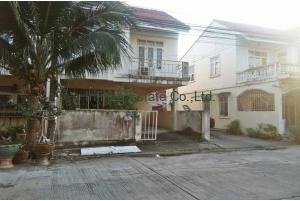 80984,  ขายทาวน์โฮม 2ชั้น หมู่บ้านไทยสมบูรณ์ เลียบคลองสาม ถนนรังสิต-นครนายก หลังมุม